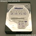 Slim Maxtor hard disk data recovery