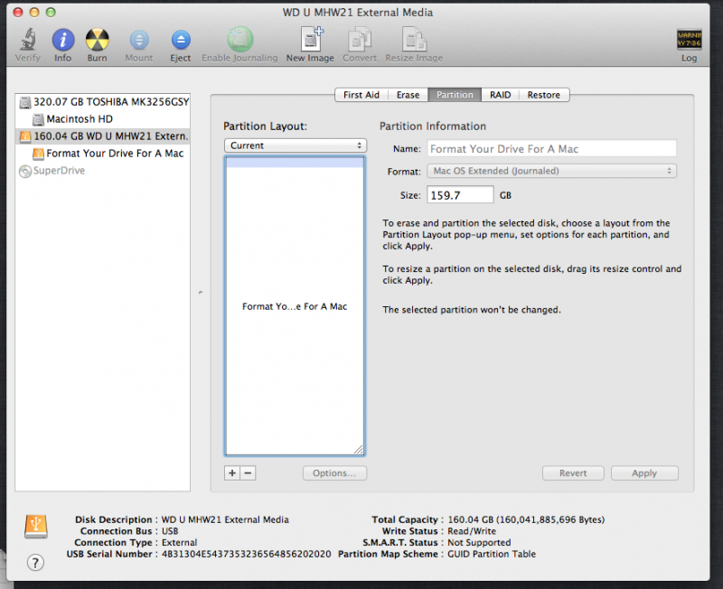 Format Your Drive For a Mac
