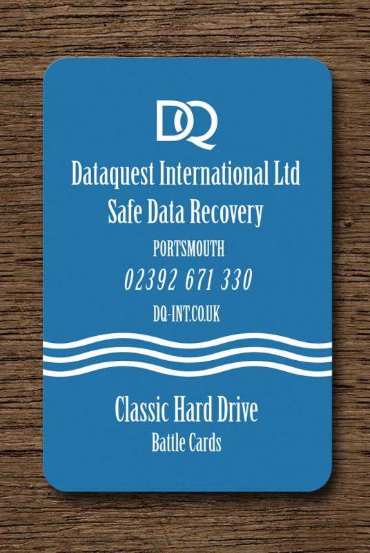 Classic Hard Drive Battle Card