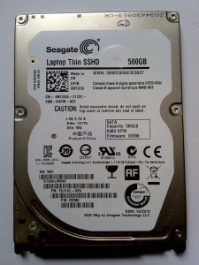 Seagate SSHD ST500LM000 Recovery