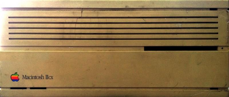 Macintosh IIcx Front