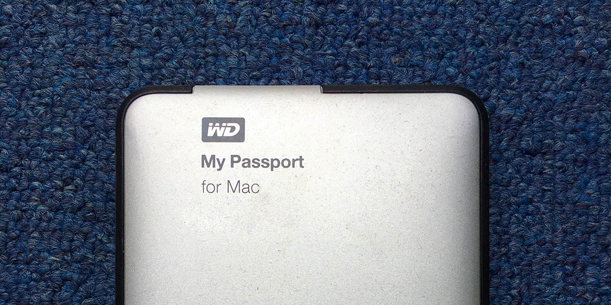 Troubleshoot WD MyPassport External Hard Drive