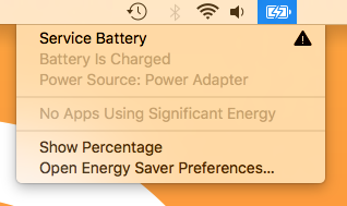 MacBook Service Battery