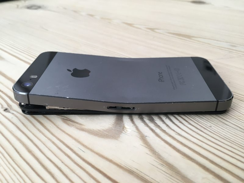 Bent iPhone Data Recovery
